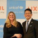 UNICEF/LIXIL 水・衛生分野でグローバルパートナーシップを締結 世界のトイレ環境改善に向け協業