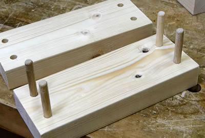 木材への穴あけ 止め穴・ダボ用の下穴あけ