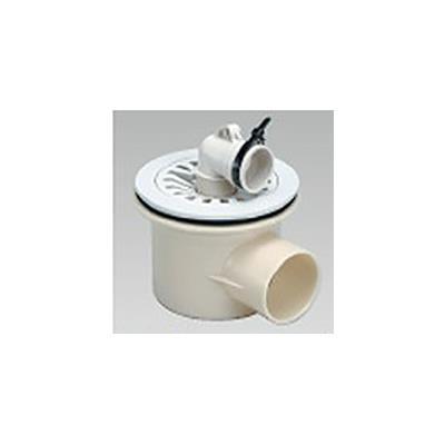 横型 洗濯機防水パン用排水トラップ <T-Y>