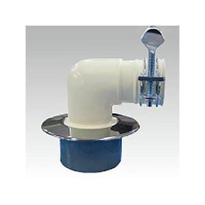 樹脂製洗濯機排水口(50m/mVP・VU兼用) <D-CB7>