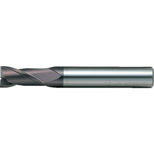 三菱K 2枚刃バイオレット ハイススクエアエンドミルショット刃長(S)7mm VA2SSD0700