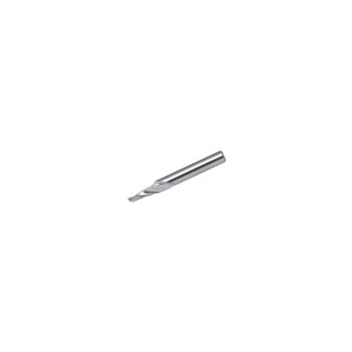 三菱K 1枚刃アルミサッシ木工用 ハイススクエアエンドミルミディアム刃長(M)3mm 1MAD0300