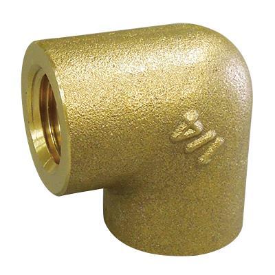 黄銅製ねじ込み継手 エルボ <GL>