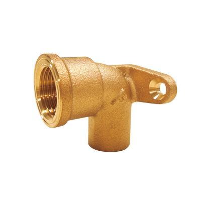 銅管用座付き水栓エルボ