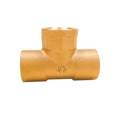 銅管用水栓チーズ