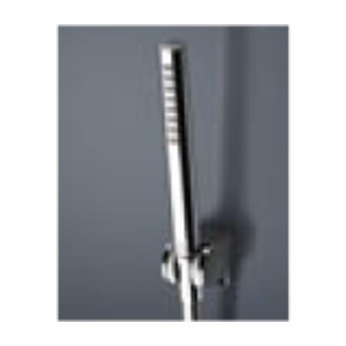 壁付サーモスタット混合水栓(シャワ ー ヘッド・ホ ー ス・ハ ン ガ ー セット) <TBW02007J>